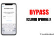 bypass icloud iphone x